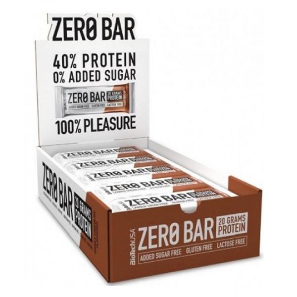 Zero Bar, Double Chocolate - 20 x 50g