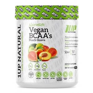 Natural Vegan BCAA + Glutamine, Peach Guava - 270g