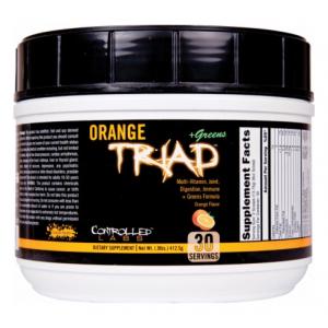 Orange Triad + Greens, Orange - 408g
