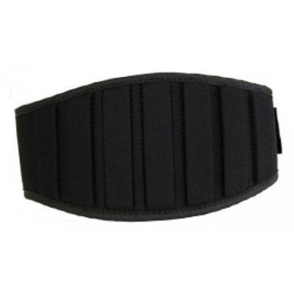 Belt with Velcro Closure Austin 5, Black - X-Small