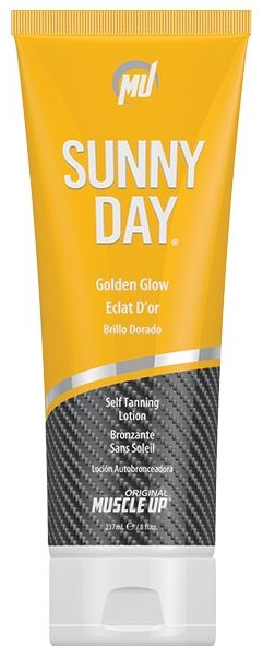 Sunny Day, Golden Glow Self Tanning Lotion - 237 ml.