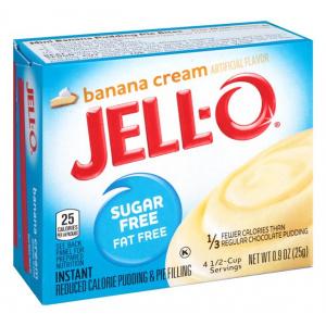 Instant Pudding & Pie Filling Sugar Free, Banana Cream - 25g