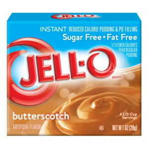 Instant Pudding & Pie Filling Sugar Free, Butterscotch - 28g