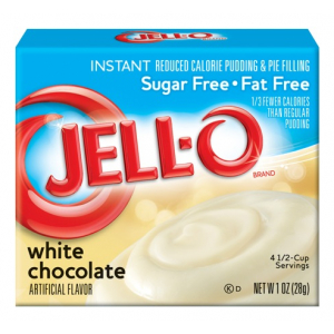 Instant Pudding & Pie Filling Sugar Free, White Chocolate - 28g