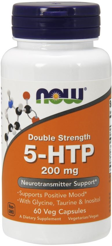 5-HTP with Glycine Taurine & Inositol, 200mg - 60 vcaps