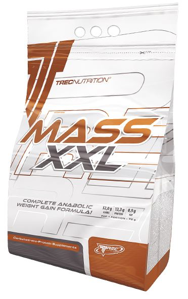 Mass XXL, Strawberry - 3000g