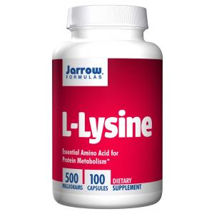 L-Lysine, 500mg - 100 caps