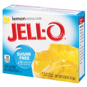 Sugar Free Gelatin Dessert, Lemon - 8.5g