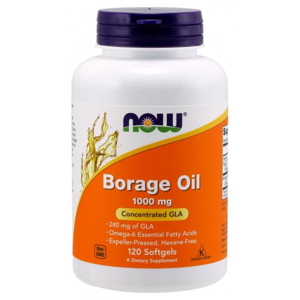 Borage Oil, 1000mg - 120 softgels