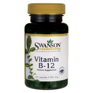 Vitamin B-12, 500mcg - 100 caps