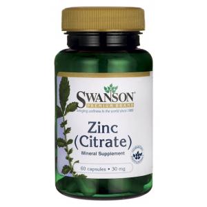 Zinc Citrate, 30mg - 60 caps