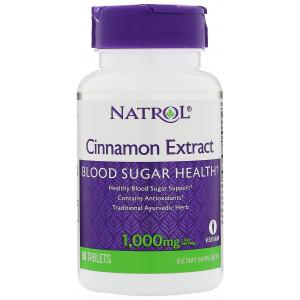 Cinnamon Extract, 1000mg - 80 tabs