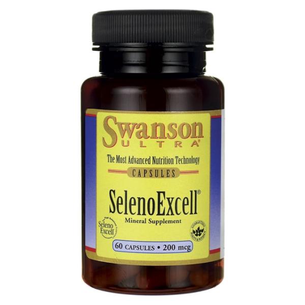 SelenoExcell, 200mcg - 60 caps