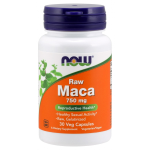 Maca 6:1 Concentrate, 750mg RAW - 30 vcaps