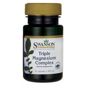 Triple Magnesium Complex, 400mg - 30 caps