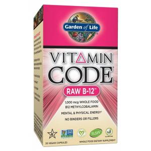 Vitamin Code RAW B-12 - 30 vcaps