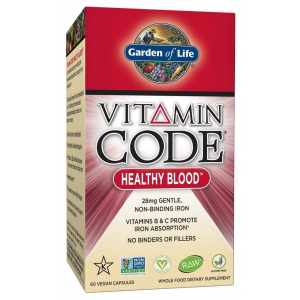 Vitamin Code Healthy Blood - 60 vcaps