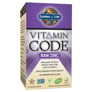 Vitamin Code RAW Zinc - 60 vcaps