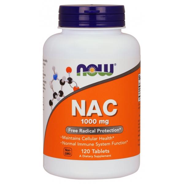 NAC, 1000mg - 120 tabs