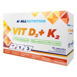 Vit D3 + K2 - 30 caps
