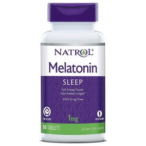 Melatonin Time Release, 1mg - 90 tabs