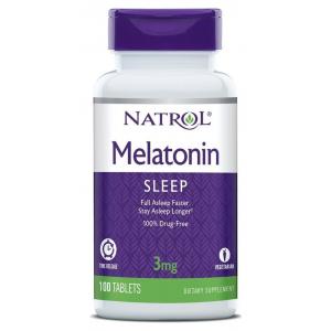 Melatonin Time Release, 3mg - 100 tabs