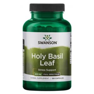 Holy Basil Leaf, 800mg - 120 caps