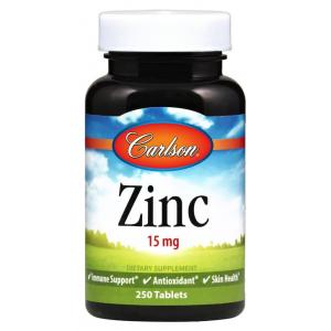 Zinc, 15mg - 250 tabs