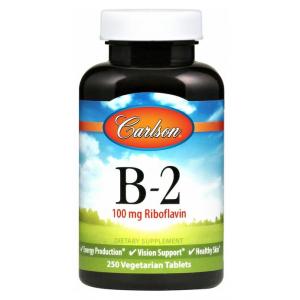Vitamin B-2, 100mg - 100 vegetarian tabs