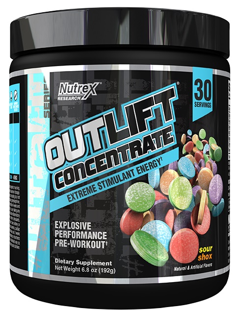 Outlift Concentrate, Sour Shox - 309g