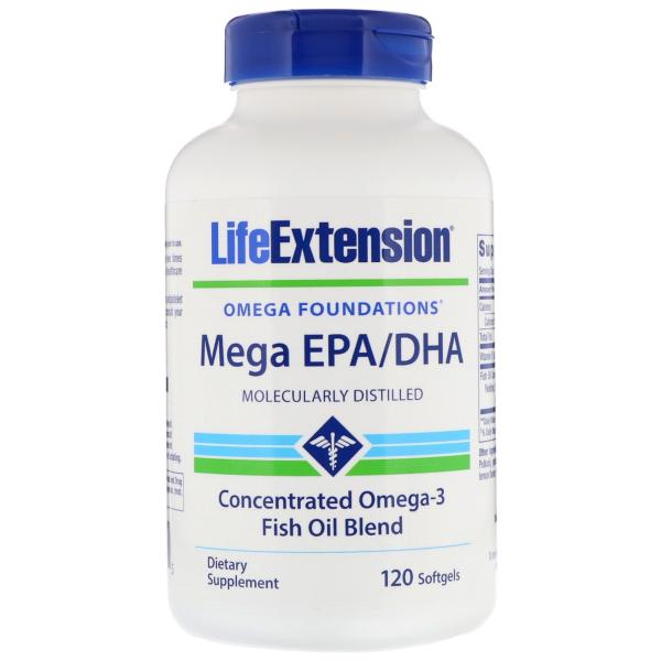 Mega EPA/DHA - 120 softgels
