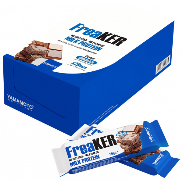 FreaKER, Almonds with White Chocolate Coating - 20 x 50g