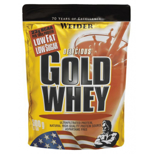Gold Whey, Strawberry Cream - 500g