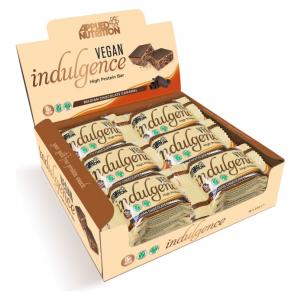 Vegan Indulgence Bar, Belgian Chocolate Caramel - 12 x 50g