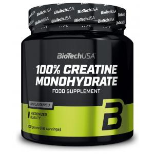 100% Creatine Monohydrate, Unflavoured - 300g