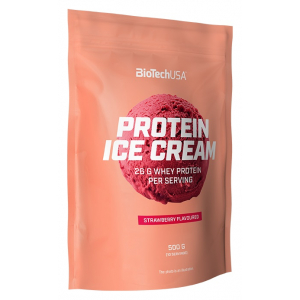 Protein Ice Cream, Strawberry - 500g