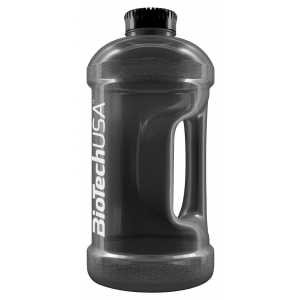 Gallon Water Jug, Black Smoke - 2200 ml.