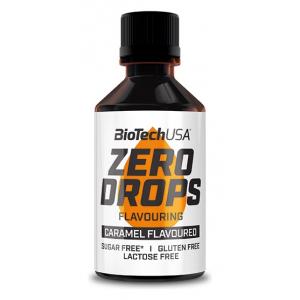 Zero Drops, Caramel - 50 ml.