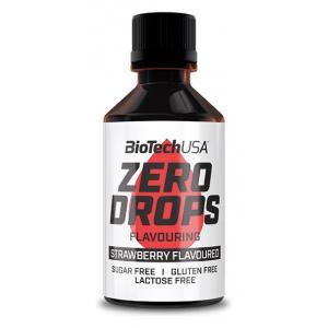 Zero Drops, Strawberry - 50 ml.
