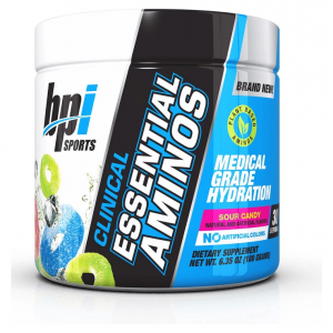 Clinical Essential Aminos, Sour Candy - 180g