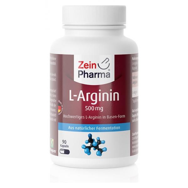 L-Arginine, 500mg - 90 caps