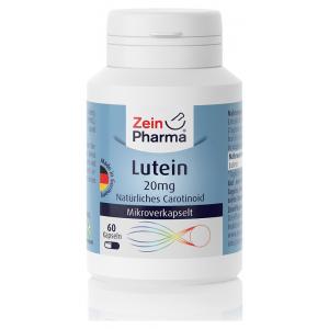 Lutein, 20mg - 60 caps