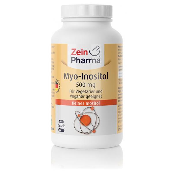 Myo-Inositol, 500mg - 180 caps