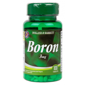 Boron, 3mg - 100 tablets