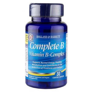 Complete B Vitamin B-Complex - 30 tablets
