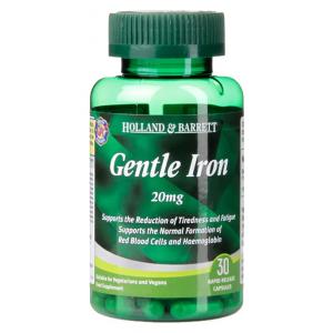 Gentle Iron, 20mg - 30 caps