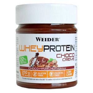 Whey Protein Choco Creme, Choco-Hazelnut - 250g