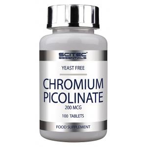 Chromium Picolinate, 200mcg - 100 tablets