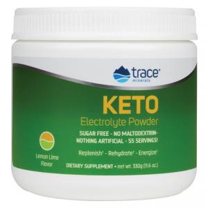 Keto Electrolyte Powder, Lemon Lime - 330g