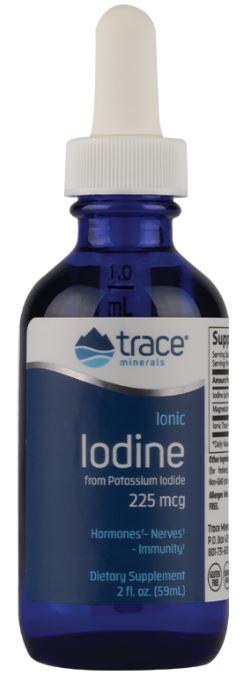 Ionic Iodine, 225mcg - 59 ml.